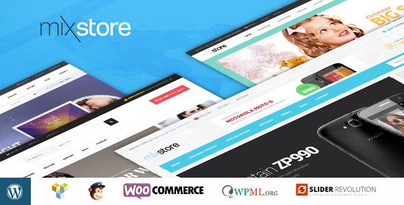 قالب MixStore - قالب وردپرس فروشگاه چندمنظوره