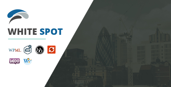 قالب WhiteSpot - قالب وردپرس کسب و کار