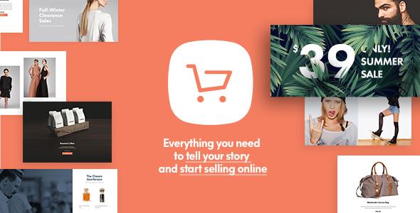 قالب Shopkeeper - قالب فروشگاهی وردپرس برای ووکامرس