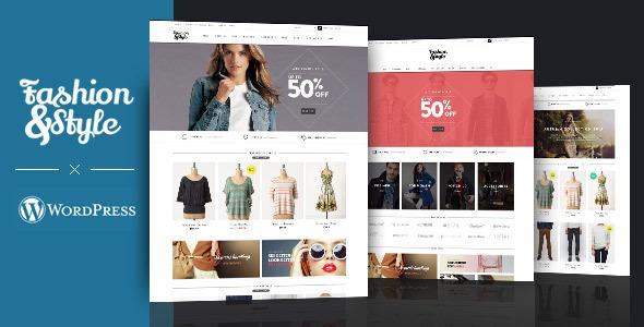 قالب Fashion - قالب وردپرس فروشگاهی