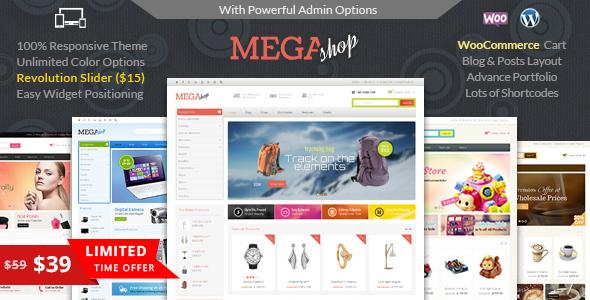 قالب مگاشاپ | Mega Shop - قالب فروشگاهی وردپرس