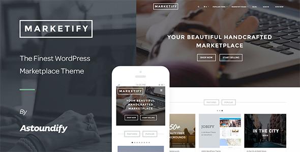 Marketify - قالب وردپرس دیجیتال مارکتینگ