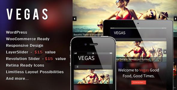 قالب Vegas - قالب وردپرس ریسپانسیو
