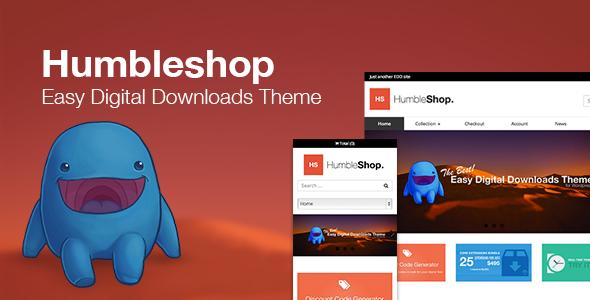 قالب Humbleshop - قالب سایت دانلود فایل
