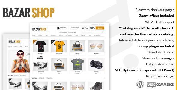 قالب بازار شاپ | Bazar Shop - قالب وردپرس فروشگاهی