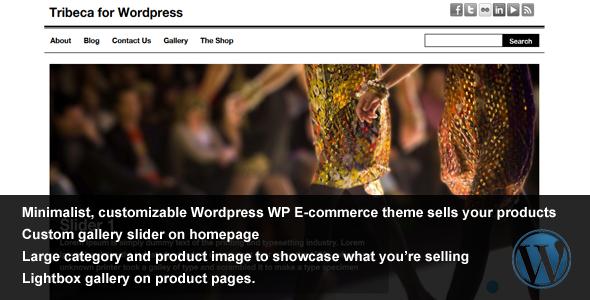 قالب Tribeca WordPress - قالب وردپرس تجارت الکترونیک