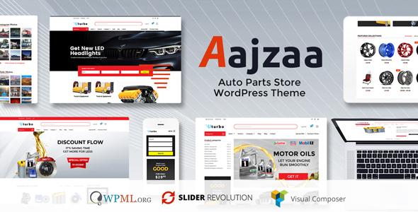 قالب Ajzaa - پوسته وردپرس فروشگاه قطعات خودرو