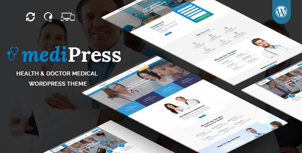 قالب mediPress - قالب وردپرس سایت پزشکی