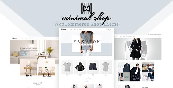قالب Minimal Shop - قالب ووکامرس