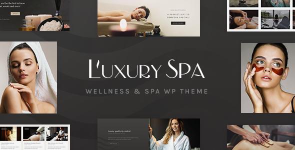 قالب Luxury Spa - قالب وردپرس اسپا و سلامتی