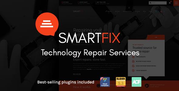 قالب SmartFix - قالب سایت خدمات تعمیرات