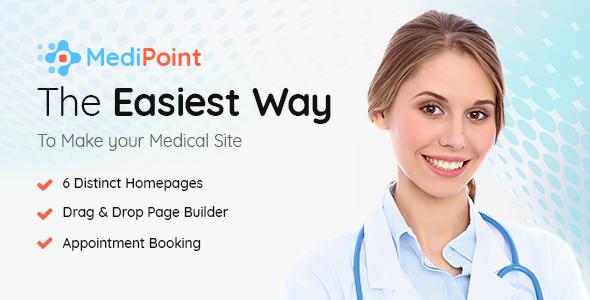 قالب MediPoint - قالب وردپرس پزشکی و سلامتی