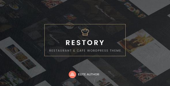 قالب Restory - قالب وردپرس رستوران و کافه