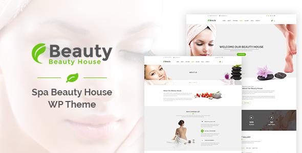 قالب Beautyhouse - قالب وردپرس سلامتی و زیبایی