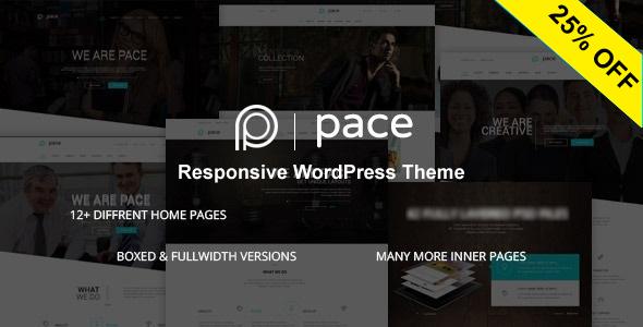 Pace - قالب چند منظوره ریسپانسیو
