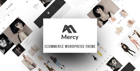 قالب Mercy - پوسته وردپرس فروشگاه مد