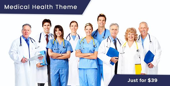 قالب MediHeal - قالب وردپرس سلامتی و پزشکی