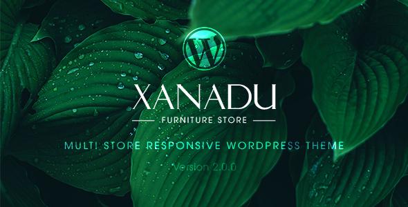 Xanadu - قالب وردپرس فروشگاه چند منظوره