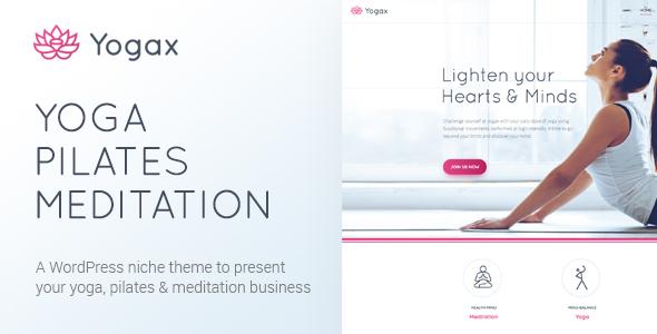 قالب Yoga X - قالب وردپرس یوگا، پیلاتس و مدیتیشن