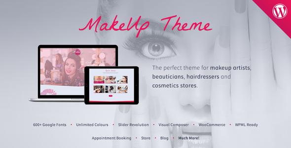 قالب MakeUp - قالب وردپرس آرایش و زیبایی