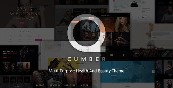 قالب qCumber - قالب وردپرس سلامتی و زیبایی