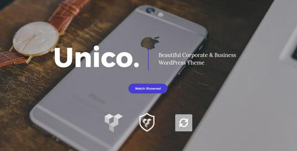 قالب Unico - قالب وردپرس کسب و کار
