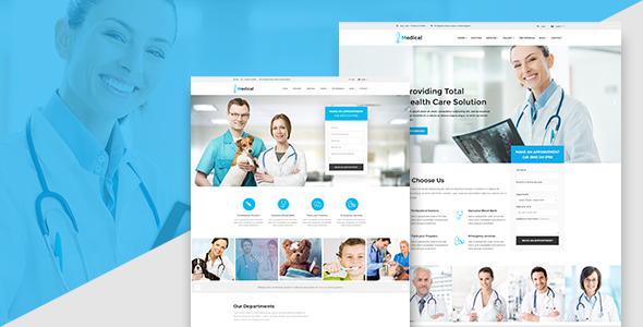 قالب Medicool - قالب وردپرس سلامتی و پزشکی