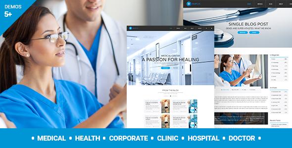 قالب MedPlus - قالب وردپرس پزشکی و سلامتی