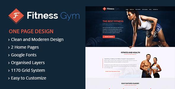 قالب FItness - قالب وردپرس باشگاه تناسب اندام