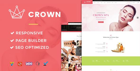 قالب Crown - قالب وردپرس سالن ماساژ و زیبایی