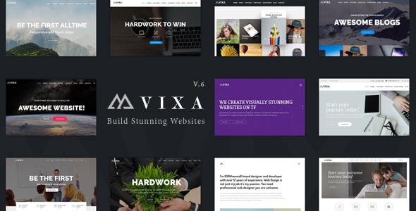 قالب Vixa - قالب وردپرس چند منظوره خلاقانه