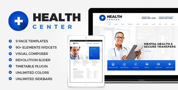 قالب مرکز سلامت | Health Center - قالب وردپرس پزشکی