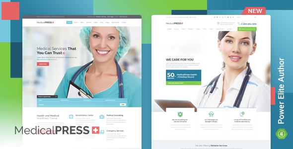 قالب MedicalPress - قالب سلامتی و پزشکی وردپرس