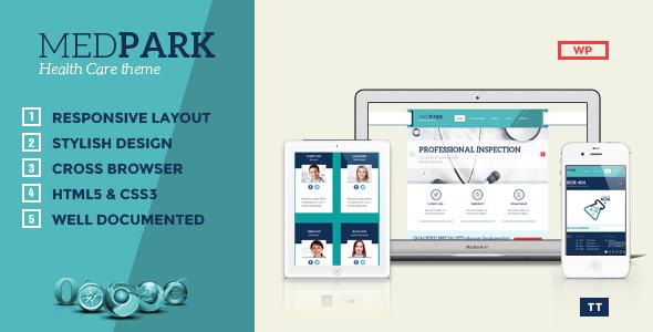 قالب MedPark - قالب وردپرس بهداشتی و پزشکی