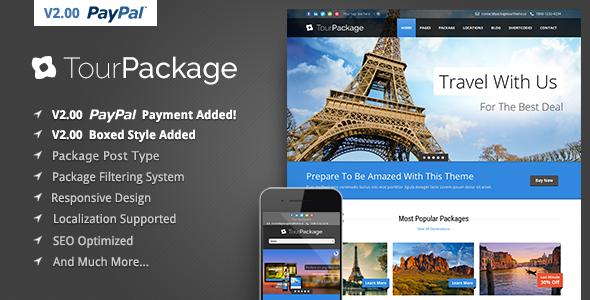 Tour Package - قالب وردپرس تور و گردشگری