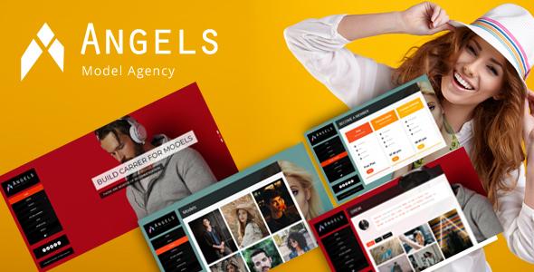 قالب Angel - قالب وردپرس مد و مدل