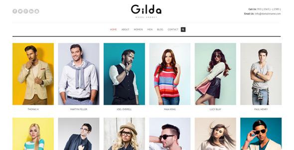 قالب Gilda - قالب وردپرس مد و مدل