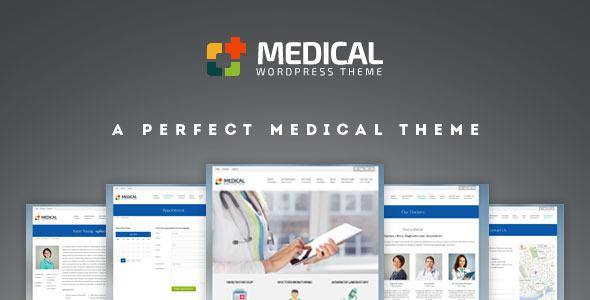 قالب Medical - قالب وردپرس فوق العاده