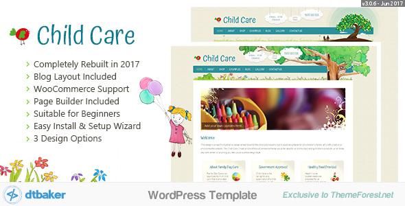 قالب Child Care Creative - قالب فروشگاهی وردپرس