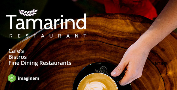 قالب Tamarind - قالب رستوران برای وردپرس