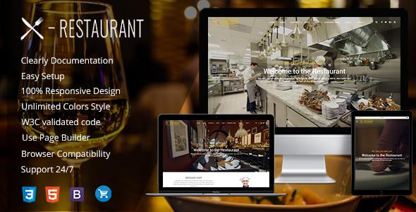 Restaurant - قالب وردپرس