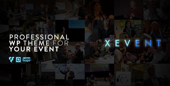قالب XEvent - قالب وردپرس رویداد و کنفرانس