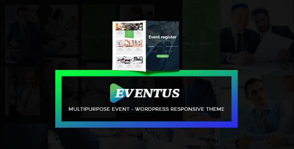 قالب Eventus - قالب وردپرس رویداد و کنفرانس