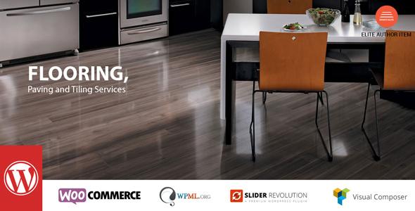 قالب Flooring - قالب وردپرس خدمات کاشی و سرامیک