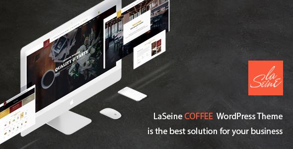 قالب Laseine - قالب وردپرس کافه و رستوران