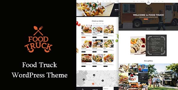 قالب Food Truck - قالب ریسپانسیو وردپرس رستوران