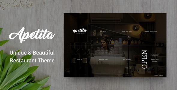 قالب Apetita - قالب رستوران وردپرس