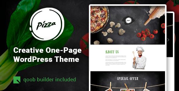 قالب Pizza - قالب وردپرس رستوران و کافه