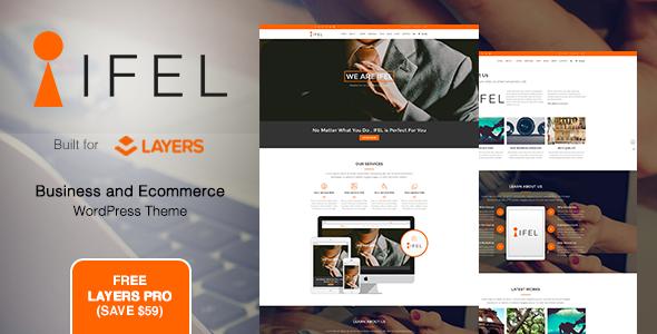 IFEL | Business - قالب فروشگاهی وردپرس