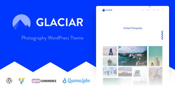 قالب Glaciar - قالب وردپرس عکاسی